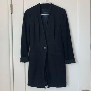 ❗️NEW // Madewell Collarless Black Long Blazer
